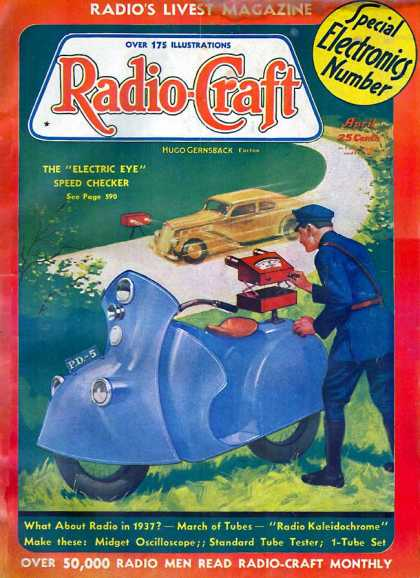 Radio Craft - 4/1937