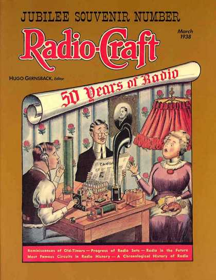 Radio Craft - 3/1938
