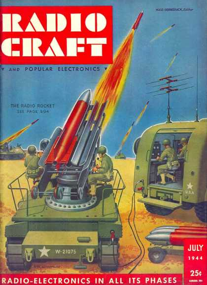 Radio Craft - 7/1944
