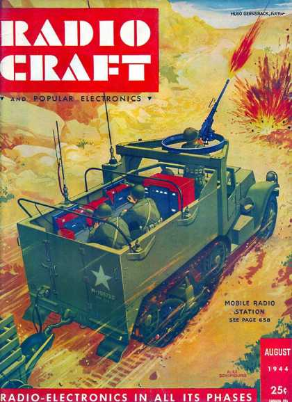 Radio Craft - 8/1944