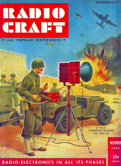Radio Craft - 11/1944