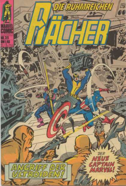 Raecher 35 - Alien Invasion - Freedom Fighters - Invaders From Beyond - Chaotic City - Heroes Defend Against Alien Invaders
