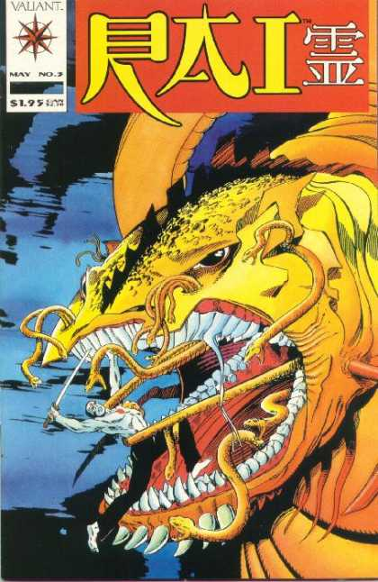 Rai 3 - Vauant - May No3 - Water - Sword - Snake - Bob Layton