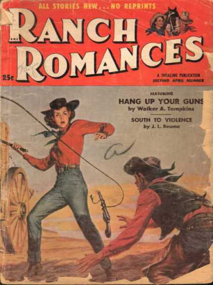 Ranch Romances - 4/1955