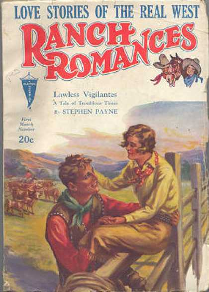 Ranch Romances - 3/1933
