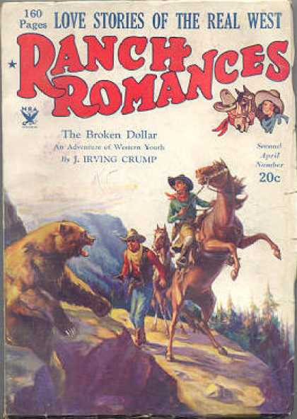 Ranch Romances - 4/1934