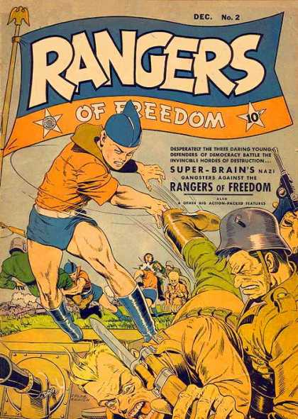 Rangers 2 - Super-brains - Gangsters Against - Guns - Fighting - Soldiers