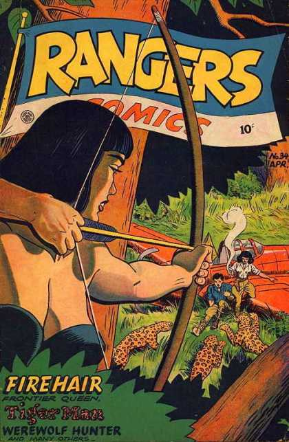 Rangers 34 - Trouble In The Jungle - Women With Bows - Attack Of The Jaguars - Help Is On The Way - Man Down