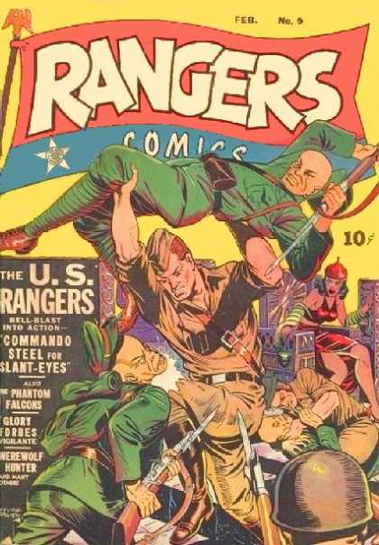 Rangers 9 - Action - Fighting - Soldiers - Phantom Falcons - Glory