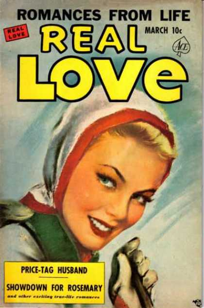 Real Love 45 - Romance - Price Tag Husband - Pretty Girl - Showdown For Rosemary - Gloves