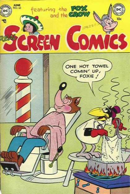 Real Screen Comics 63