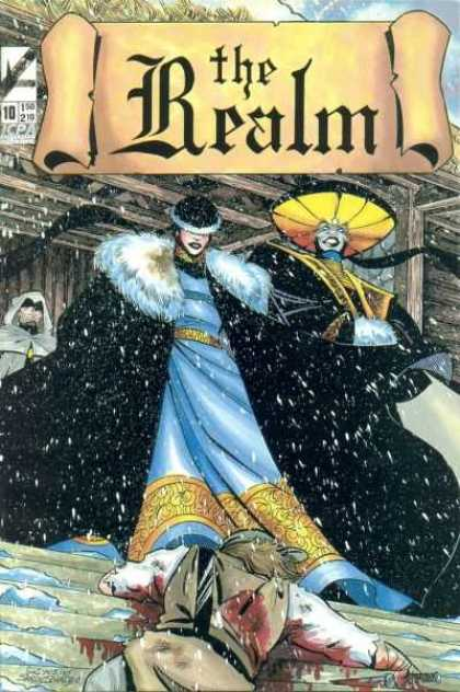 Realm 10 - Realm - Blood - Steps - Blue - Asian - David Mack, Guy Davis