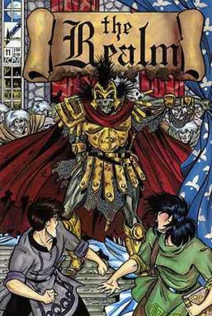Realm 11 - Book - Armor - Red Cape - Skull - Army - David Mack, Guy Davis