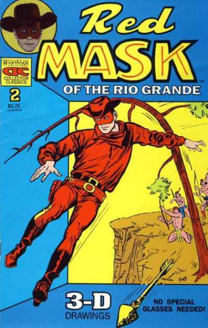 Red Mask of the Rio Grande 2 - Western - 3d - Indians - Action - Gimmick