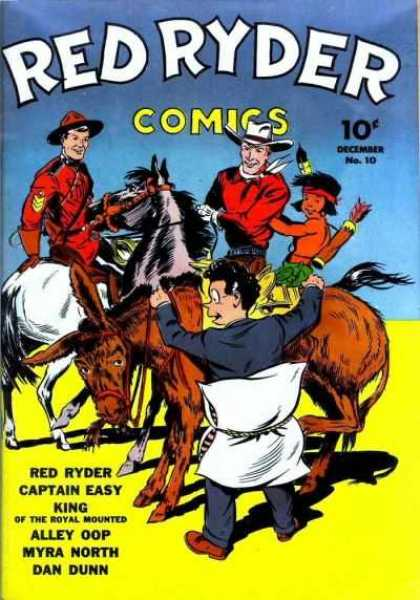 Red Ryder Comics 10