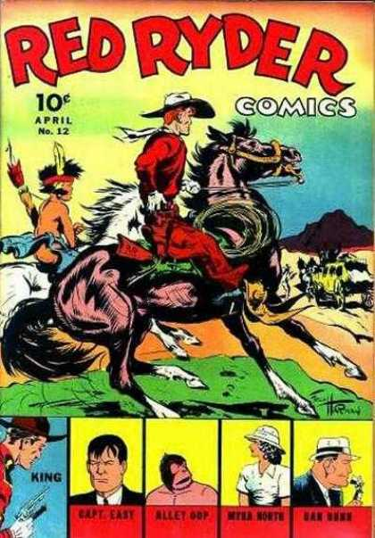 Red Ryder Comics 12