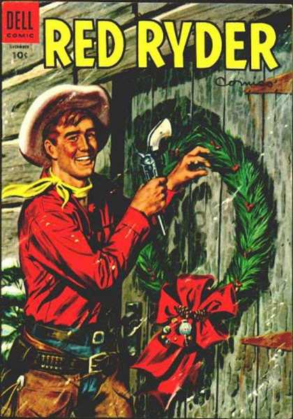 Red Ryder Comics 137 - Cowboy - Dell - Thunder - Painted Valley Ranch - Little Beaver