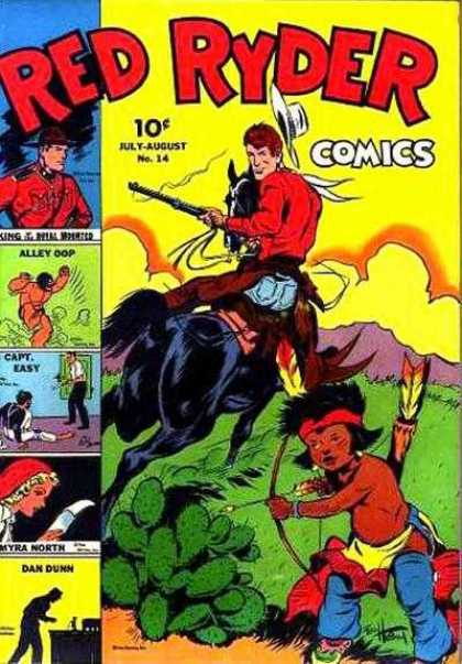 Red Ryder Comics 14