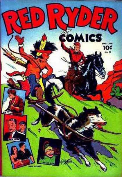 Red Ryder Comics 18
