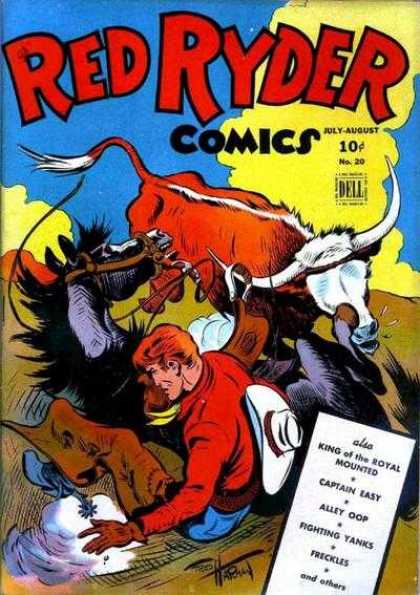 Red Ryder Comics 20