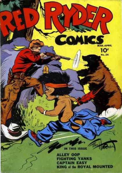 Red Ryder Comics 24