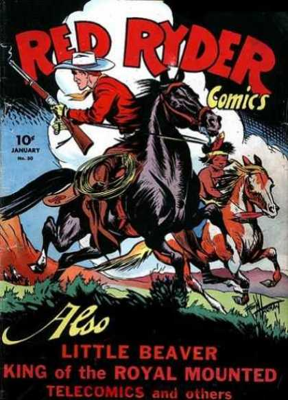 Red Ryder Comics 30