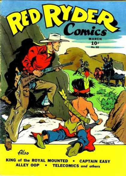 Red Ryder Comics 32