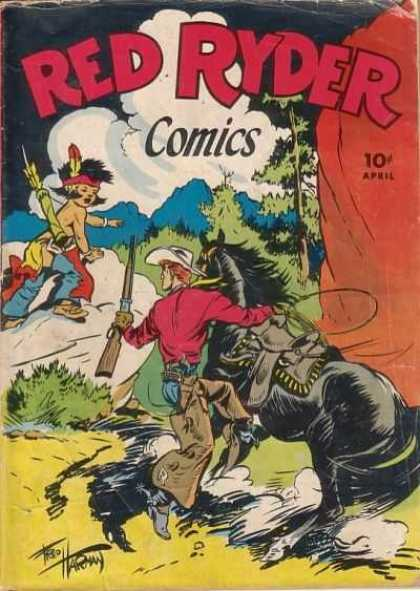 Red Ryder Comics 33