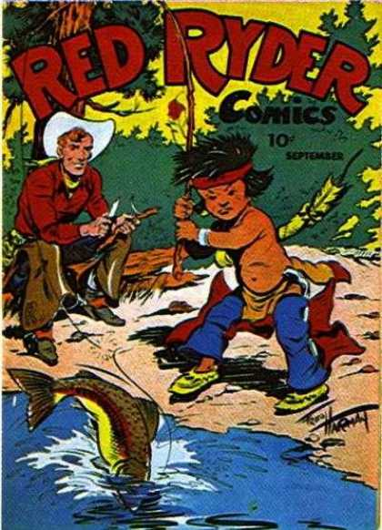 Red Ryder Comics 38