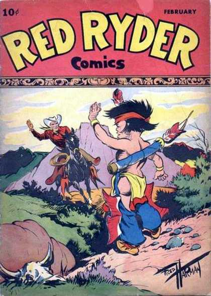 Red Ryder Comics 55