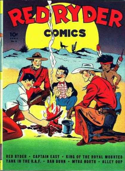 Red Ryder Comics 6