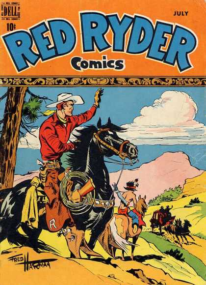 Red Ryder Comics 72
