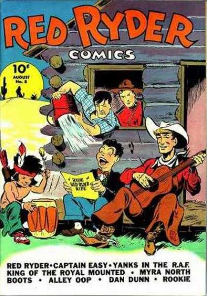 Red Ryder Comics 8