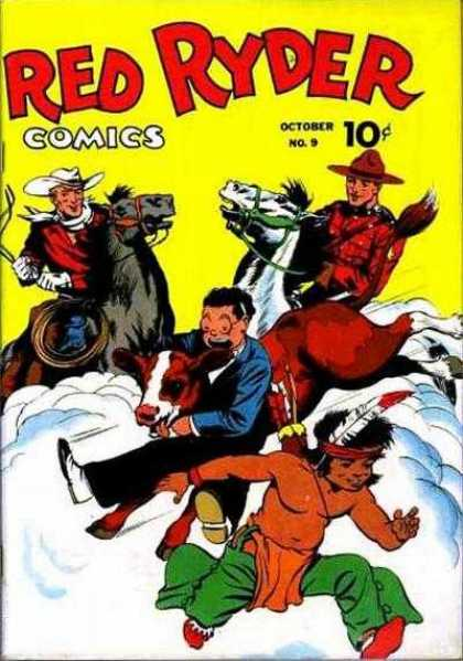 Red Ryder Comics 9