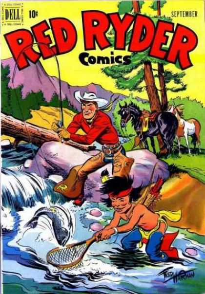 Red Ryder Comics 98