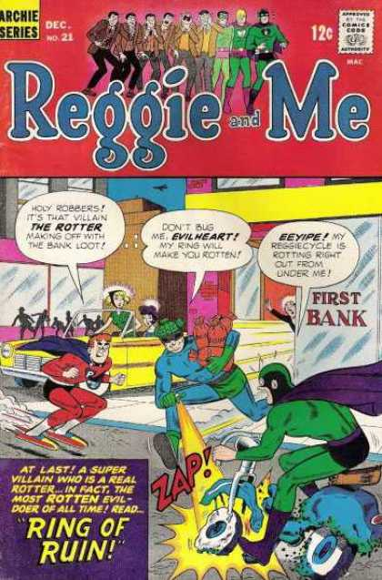 Reggie and Me 21 - Archie - Ring Of Ruin - Rotter - Evilheart - Loot