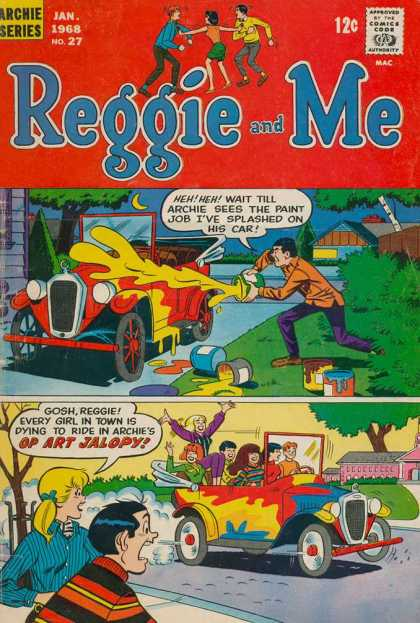 Reggie and Me 27 - Car - Paint - Archie - Jalopy - Houses