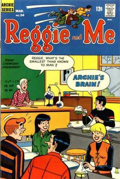 Reggie and Me 34 - Archie - Reggie - Archies Brain - School - Teacher