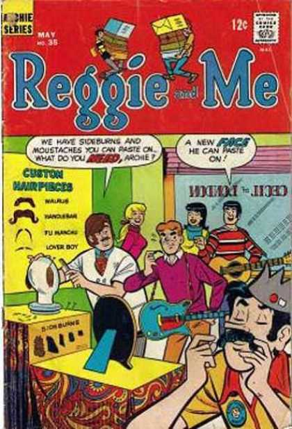 Reggie and Me 35 - Guitar - Fake Mustache - Jughead - Archie - Betty