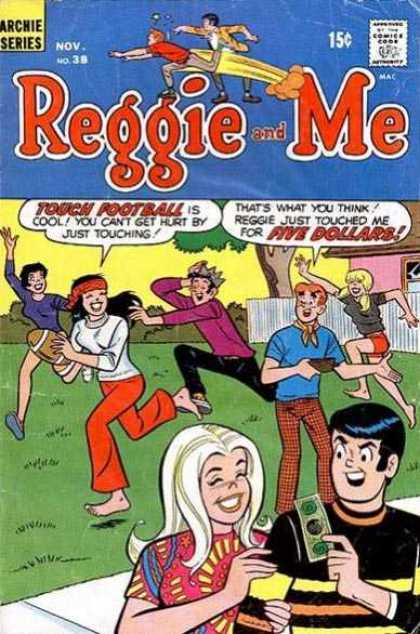 Reggie and Me 38 - Foot Ball - Five Dollars - Playing - Reggie - Running