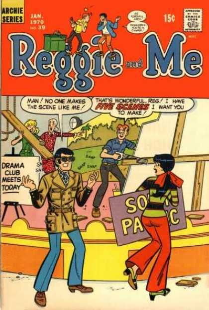 Reggie and Me 39 - Reggie And Me - Reggie - Archie - Veronica - Betty