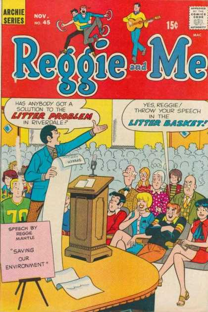 Reggie and Me 45 - Riverdale - Litter - Environment - Public Speaking - Waste Paper