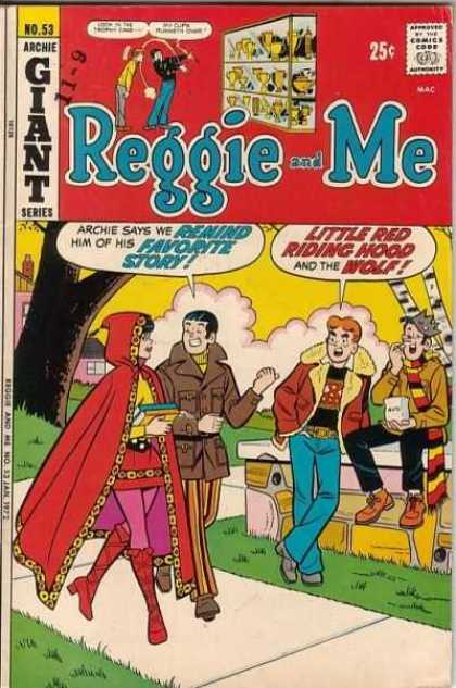 Reggie and Me 53 - Archie Giant Series - Little Red Riding Hood - The Wolf - Remind - Favorite Story
