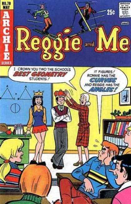 Reggie and Me 70 - Archie Series - No70 May - Approved By The Comics Code Authority - Books - Best Geometry