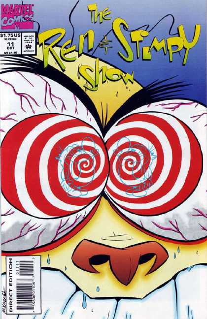 Ren & Stimpy Show 11 - Circle - Eyebrow - Eyeball - 175us - Nose