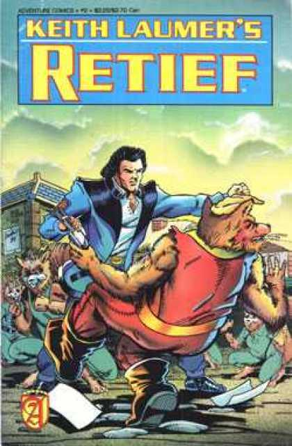 Retief 2 - Keith Laumer - Animal - Man - Clouds - Building