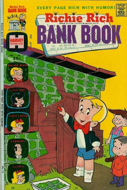 Richie Rich Bank Books 14