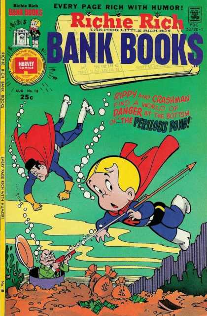 Richie Rich Bank Books 18