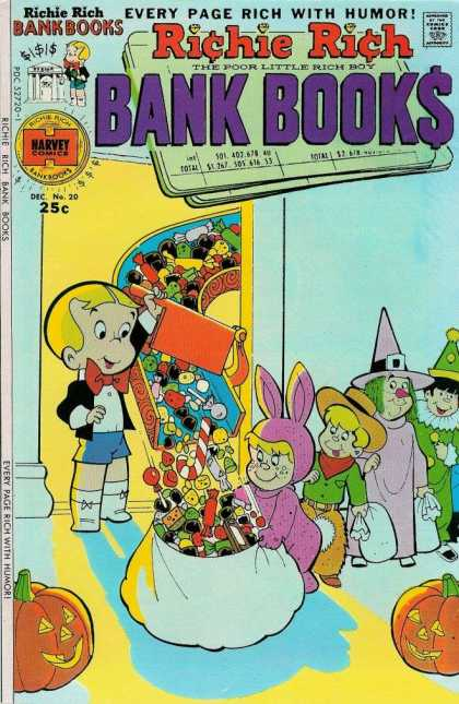 Richie Rich Bank Books 20