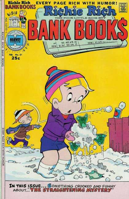Richie Rich Bank Books 21